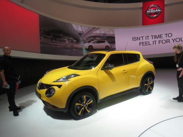 La nuova Nissan Juke 2015 sfila a Vienna