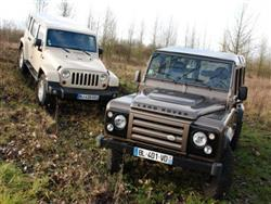 Jeep Wrangler o Land Rover Defender?