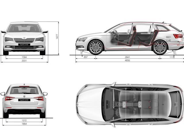 Skoda Superb Wagon: la terza generazione