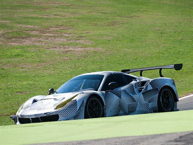 Ferrari 488 GT testata a Vallelunga